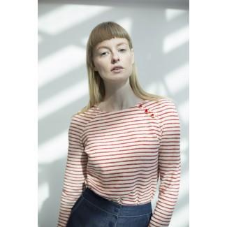 Orange off-white Margot Jumper