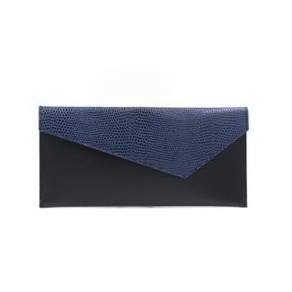 Blue Clutch bag by Michael...