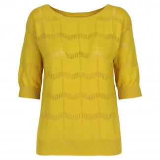 Yellow Top By Amymara