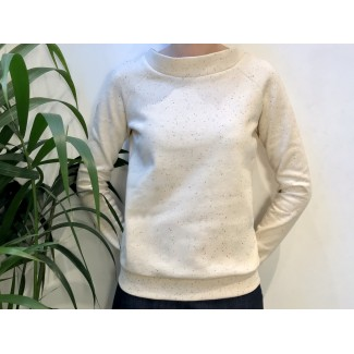 Pull Camille blanc