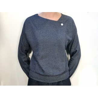 Navy Speckled Val JUMPER