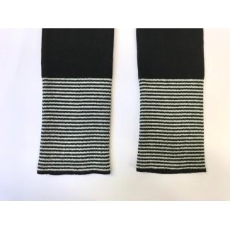Chauffe-poignets noirs...