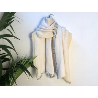 Écharpe blanc Géraldine...