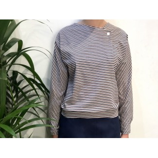 Striped Val TOP