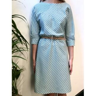 Striped Serenella dress
