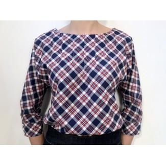 Chemise à carreaux Serenella