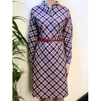 Checked Salma Dress