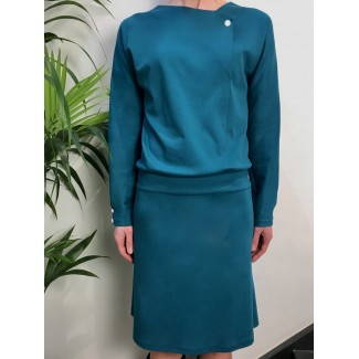 Emerald Green Val Dress