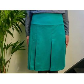 Green woolen Skirt