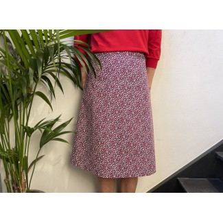 Laly skirt small leaves
