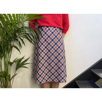 Checked Laly skirt