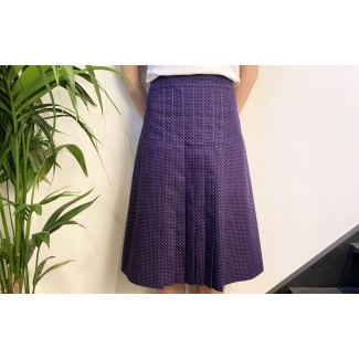 Pleated skirt Lea with...