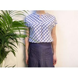 Chemise à carreaux Lucie