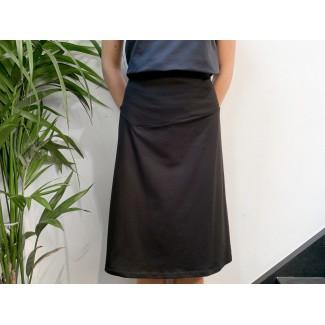 Black Théo skirt