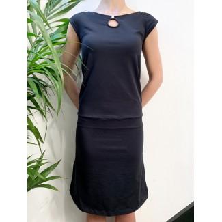 Juliette navy dress