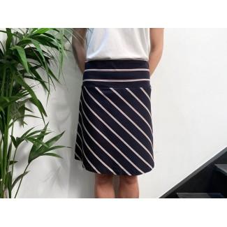 Striped Tennis skirt