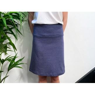 Blue off-white Speckled skirt