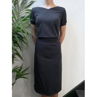 Navy Lucinda dress