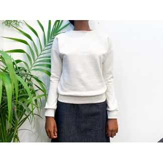 Offwhite Speckled Solene Sweat