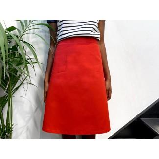 Jupe Nasfati Workwear Rouge