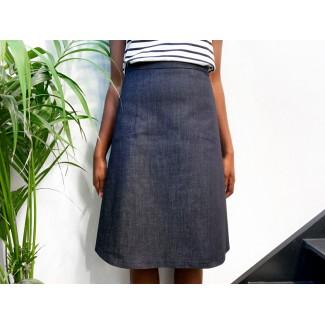 Stretch Jean Nasfati Skirt