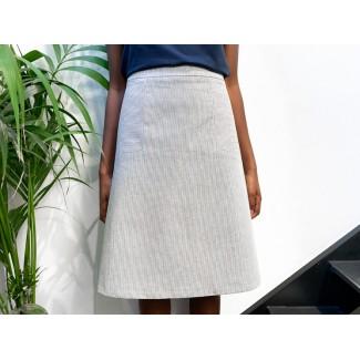 Striped Nasfati Skirt