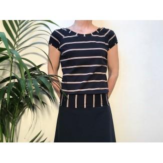 Striped Delvina Top