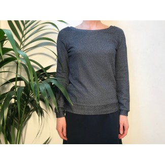 Navy Specled Delvina Top